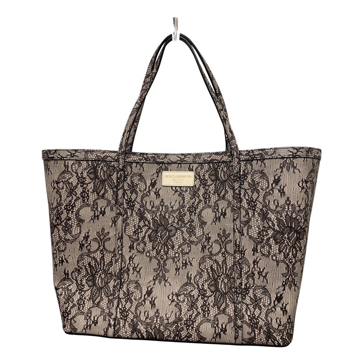 Dolce & Gabbana N Grey Leather handbag for Women N
