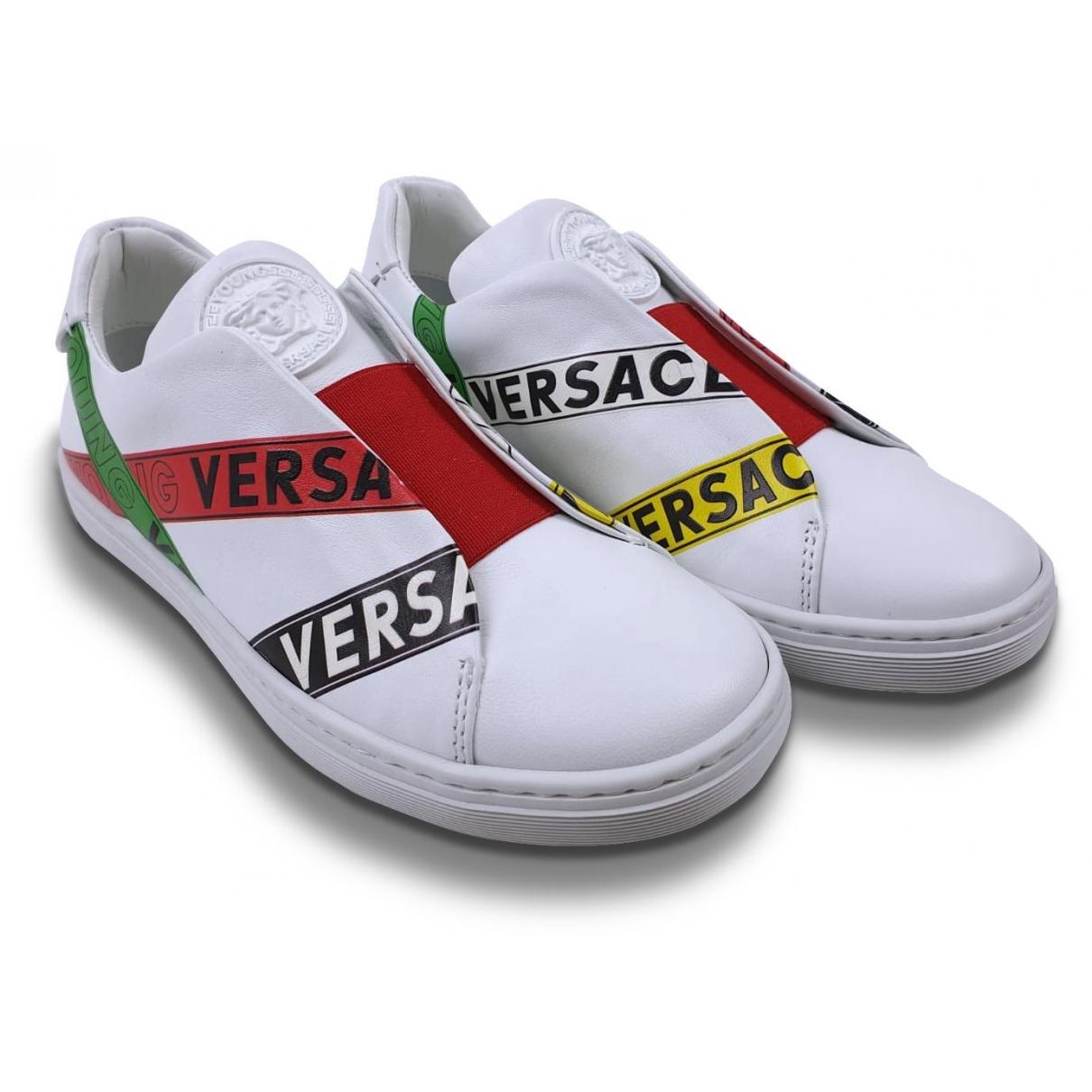 Deportivas de Cuero Versace