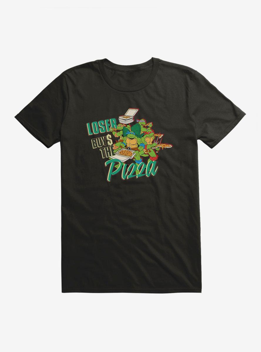 Teenage Mutant Ninja Turtles Loser Buys Pizza T-Shirt
