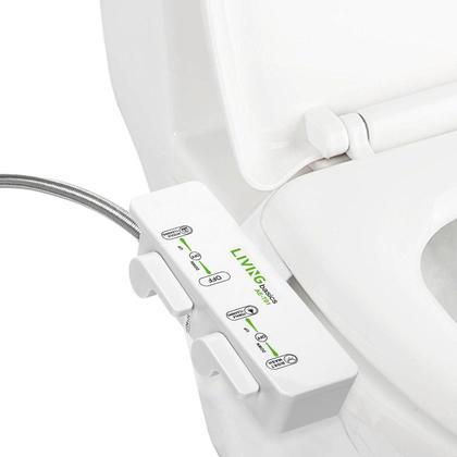 Toilet Bidet Ultra-thin Cold Water Non-Electric Mechanical Bidet Double Nozzle - Amazetec®