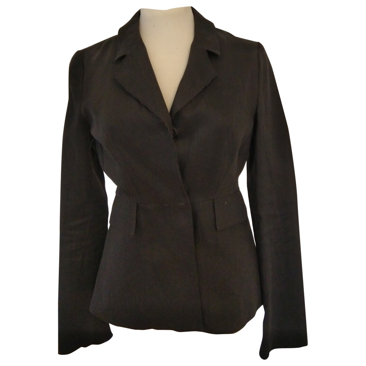 Acne Studios \N Anthracite Cotton jacket for Women 36 FR