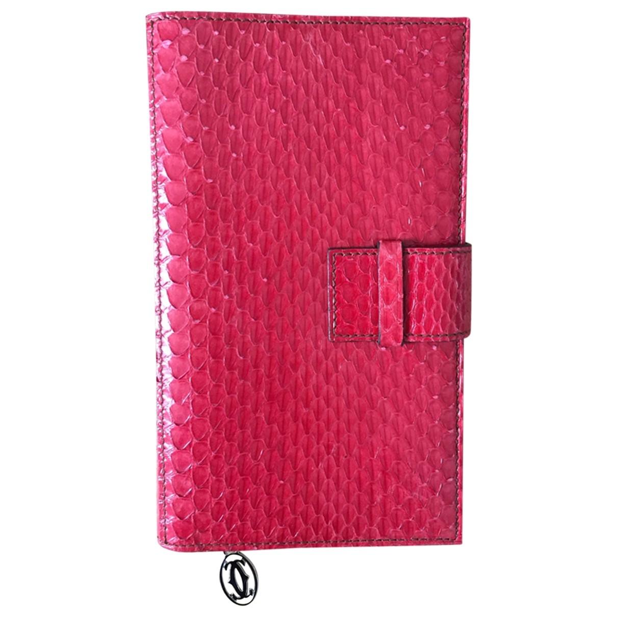 Cartier - Objets & Deco   pour lifestyle en python - rouge