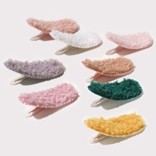 8pcs Baby Solid Hair Clip