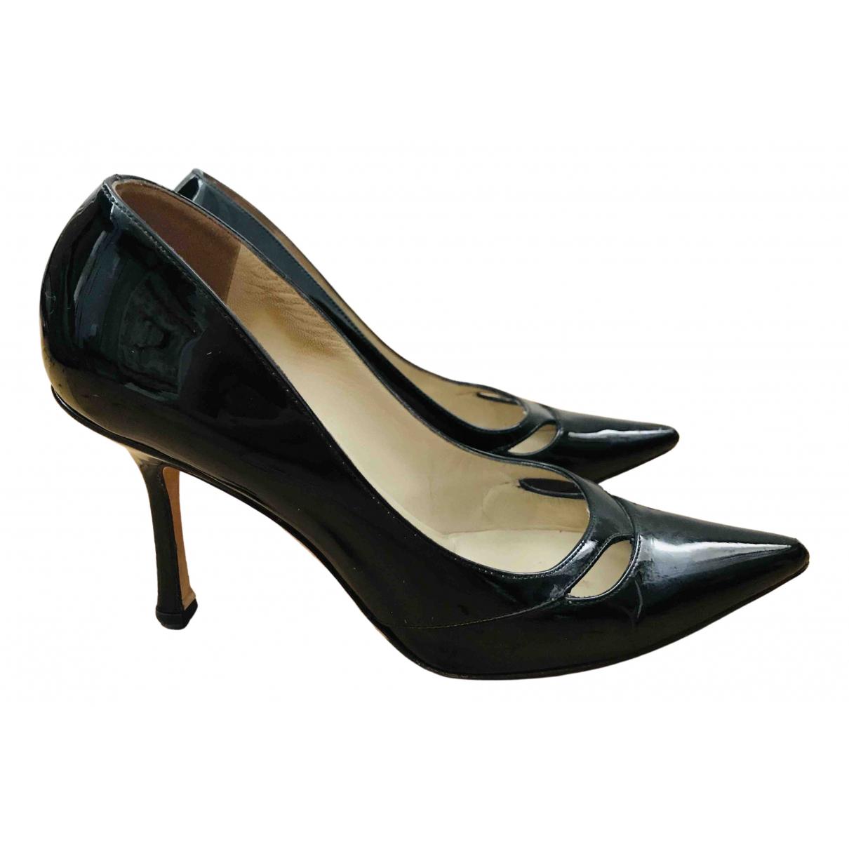 Jimmy Choo \N Black Patent leather Heels for Women 37 EU
