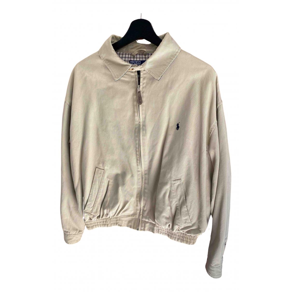 Polo Ralph Lauren - Vestes.Blousons   pour homme en coton - beige