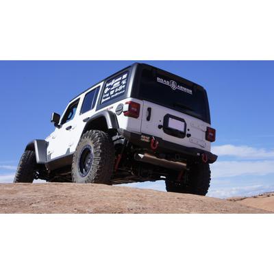Road Armor Stealth Mid Width Rear Bumper (Black) - 5182R1B