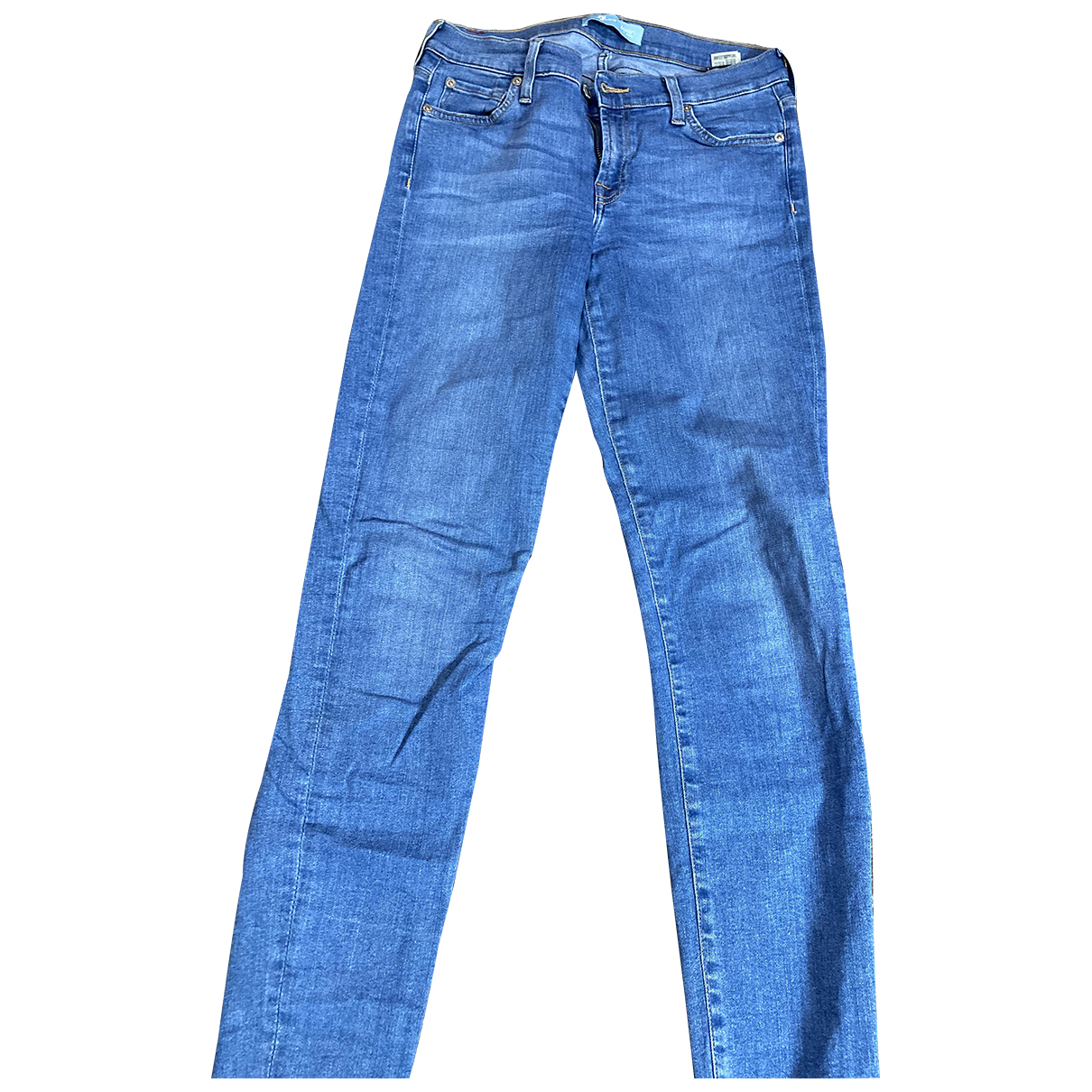 7 For All Mankind N Blue Denim - Jeans Trousers for Women 38 FR