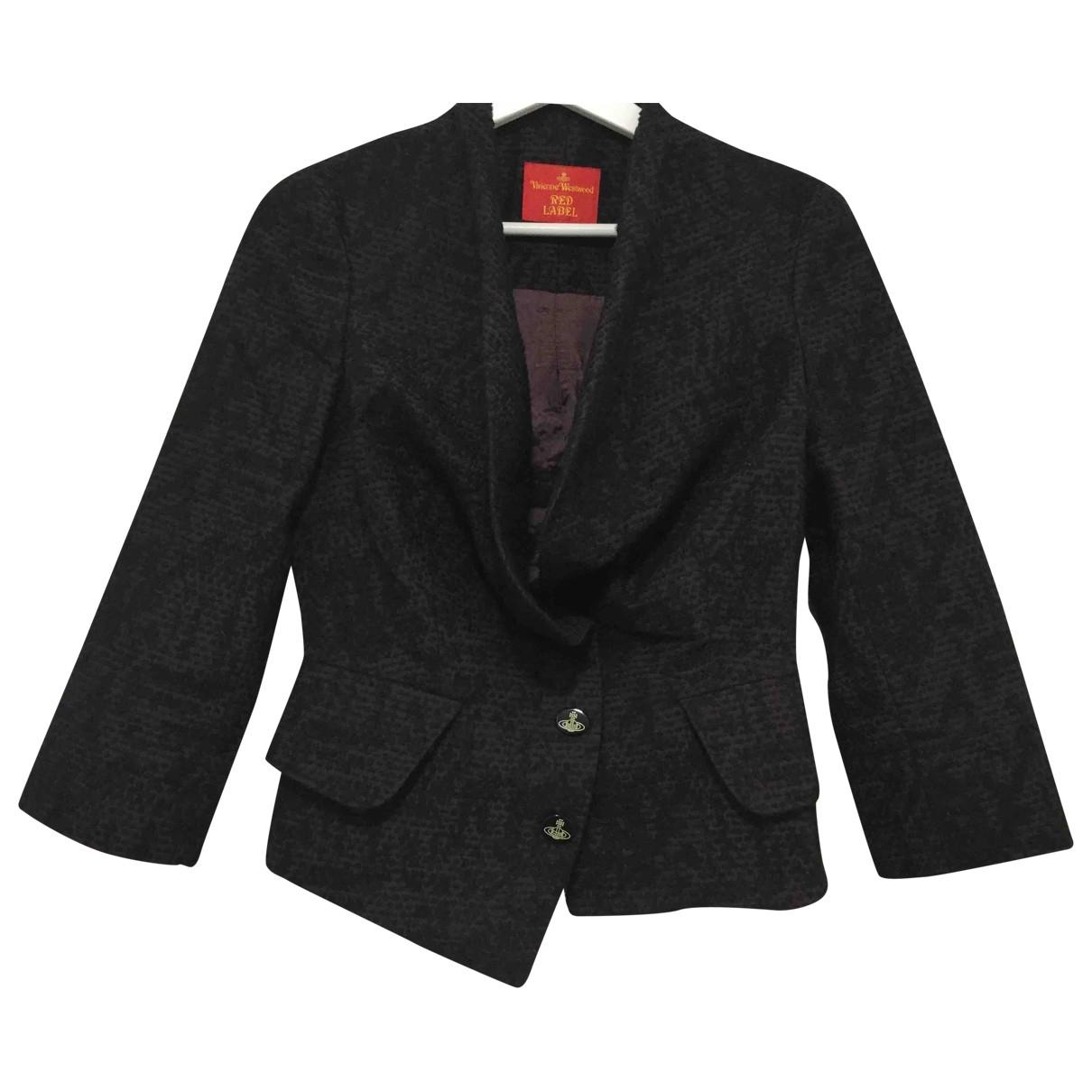 Vivienne Westwood Red Label \N Purple Wool jacket for Women 40 IT
