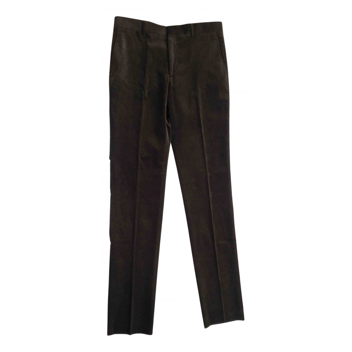 Polo Ralph Lauren N Brown Cotton Trousers for Men 38 UK - US