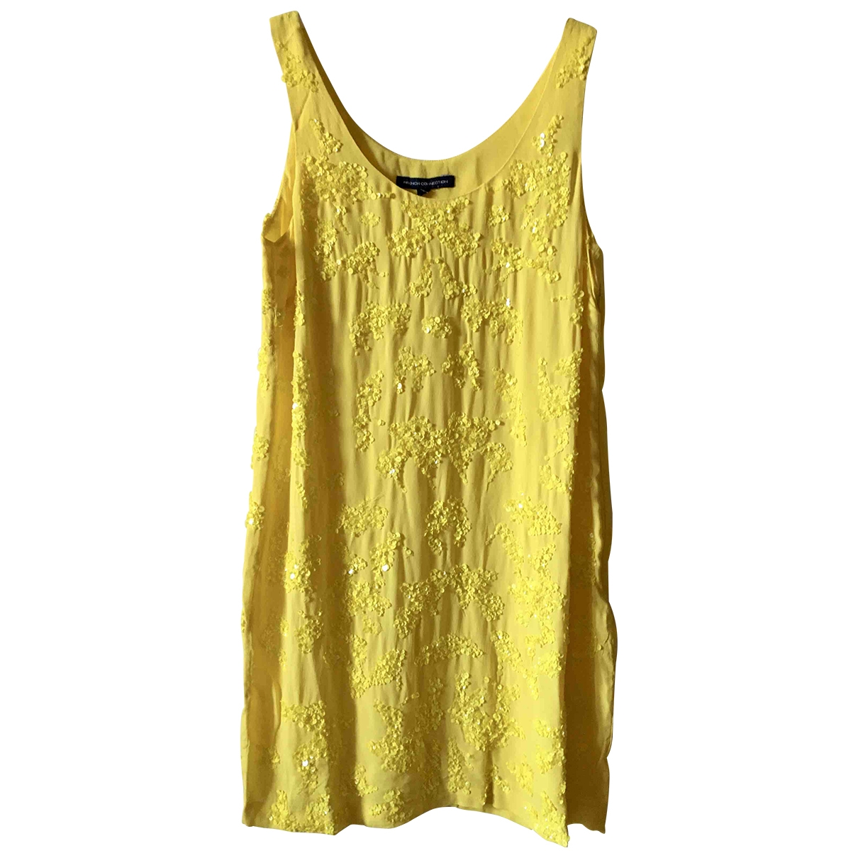 French Connection - Robe   pour femme - jaune