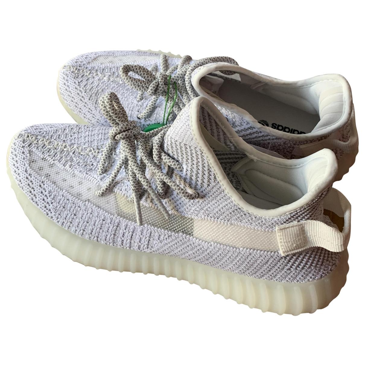 Yeezy X Adidas - Baskets   pour homme en toile - blanc