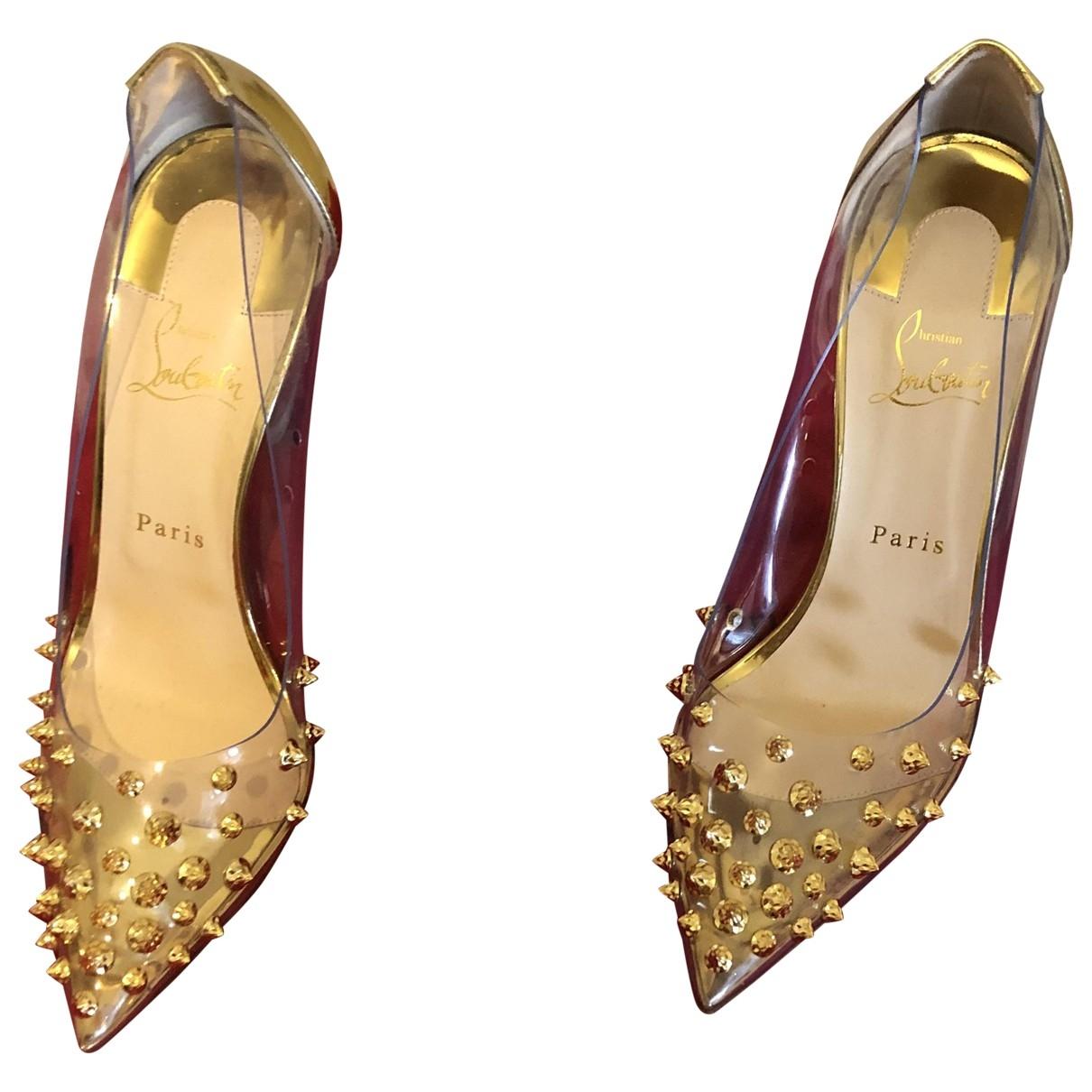 Christian Louboutin \N Gold Heels for Women 7 UK