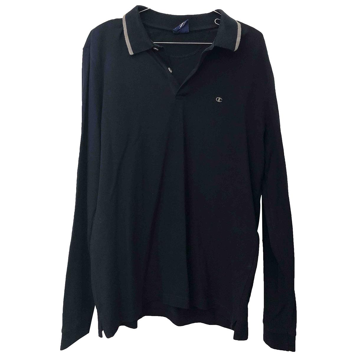 Champion \N Blue Cotton Polo shirts for Men L International