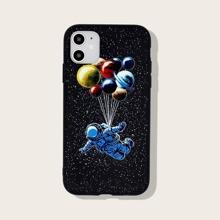 Funda de iphone con astronauta