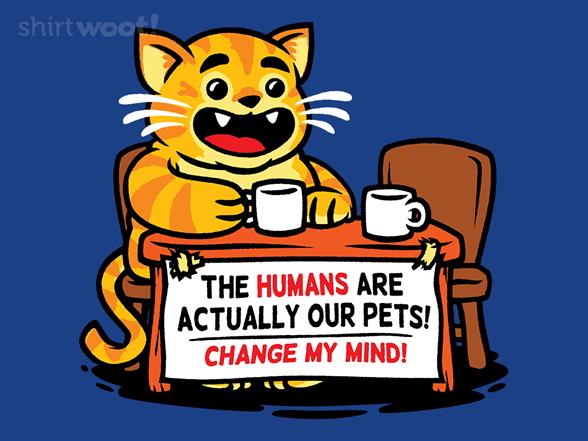 Change My Feline Mind T Shirt