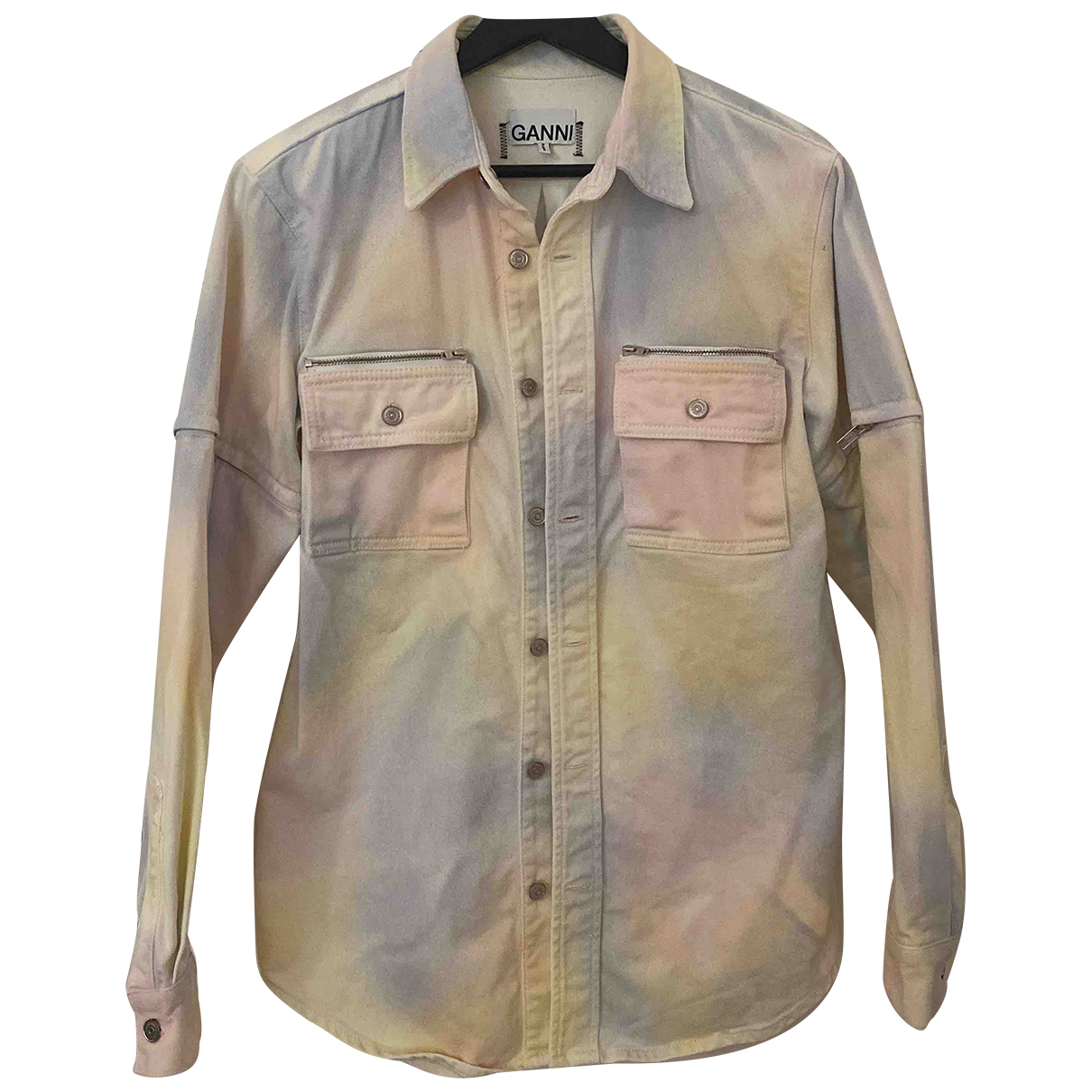 Ganni Spring Summer 2020 Jacke in  Bunt Denim - Jeans