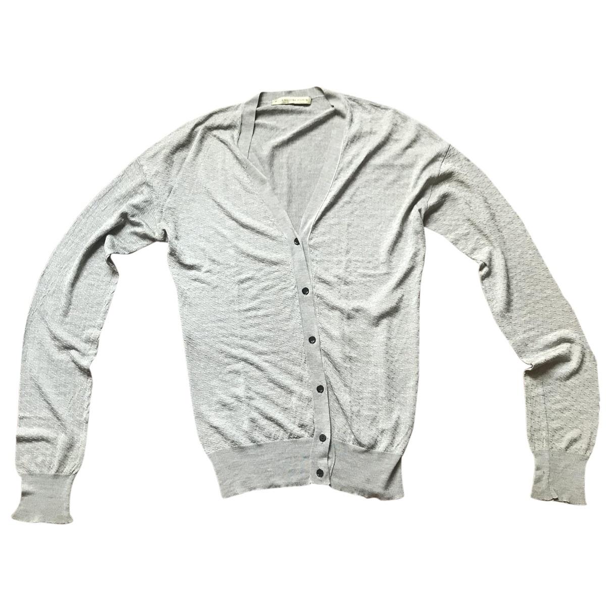 Balenciaga \N Pullover in  Silber Seide