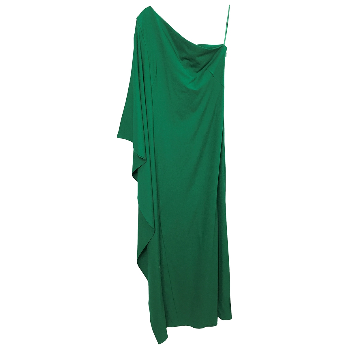 Osman London \N Kleid in  Gruen Polyester