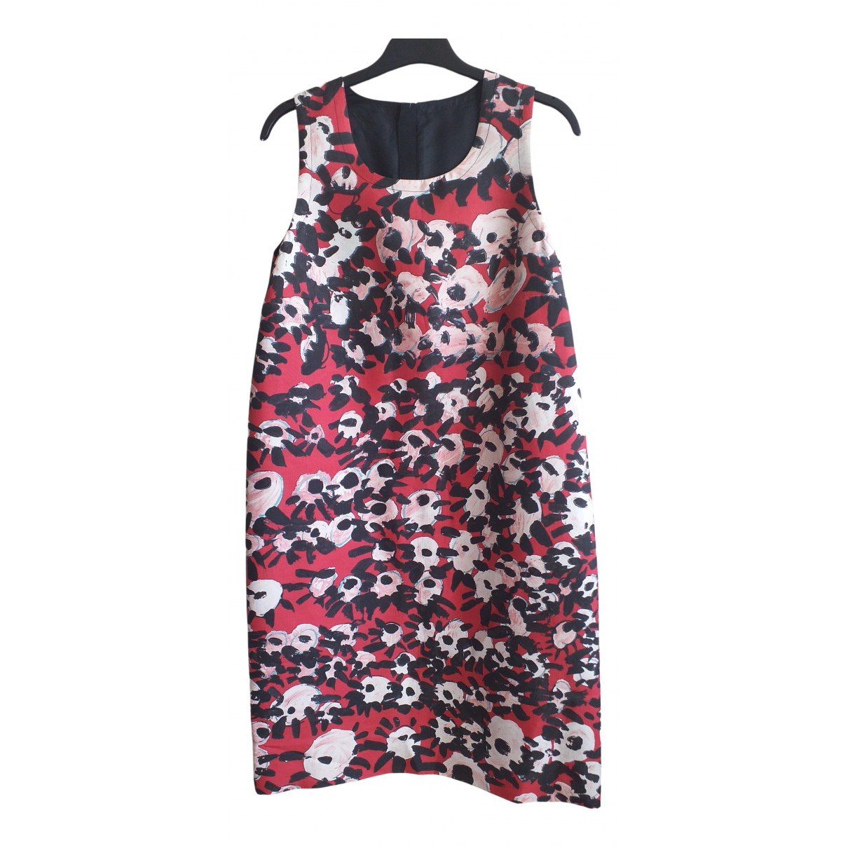 Marni - Robe   pour femme en coton - rouge