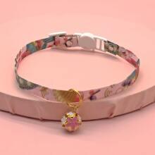 1 Stueck Katze Halsband mit Glocken Dekor
