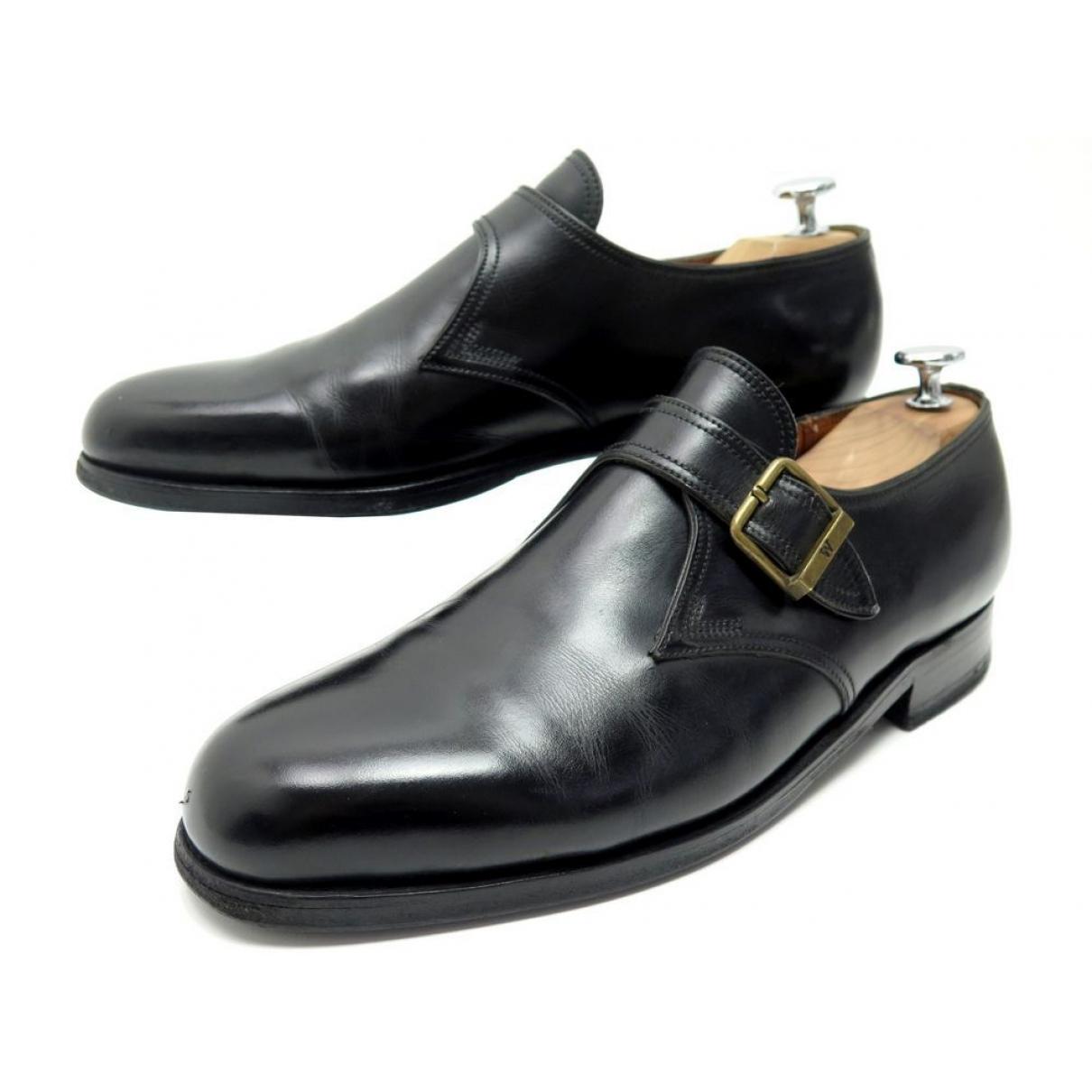 Jm Weston - Mocassins   pour homme en cuir - noir