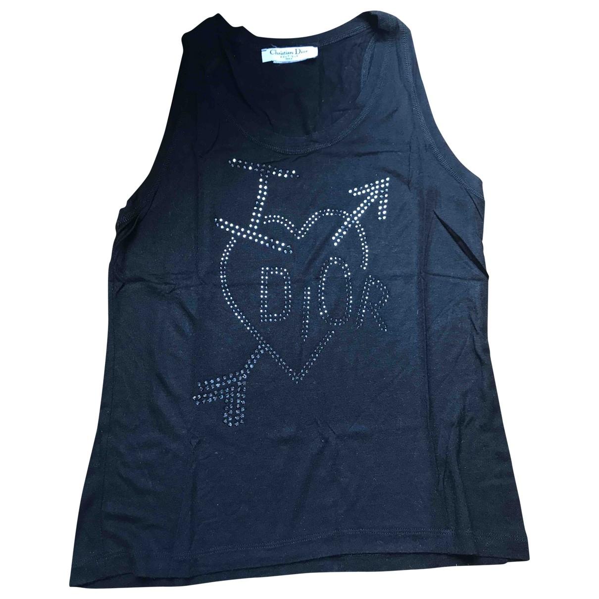 Dior \N Top in  Schwarz Polyester