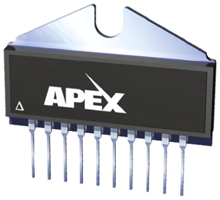 Apex PA15FL , High Voltage, Op Amp, 5.8MHz, 10-Pin SIP