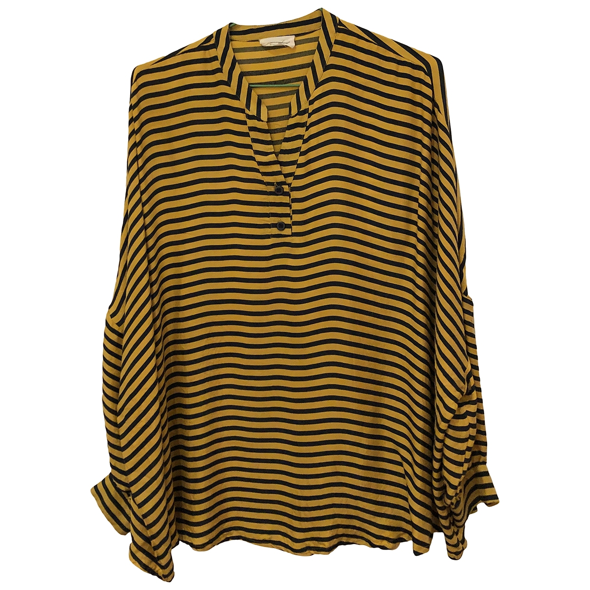 American Vintage \N Yellow  top for Women 36 FR