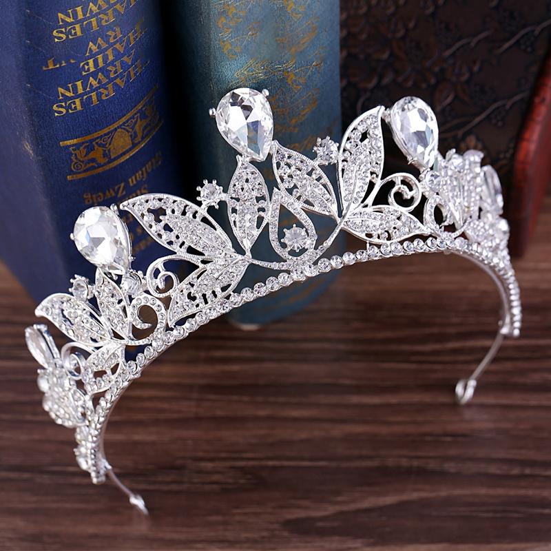 European Crown E-Plating Hair Accessories (Wedding)