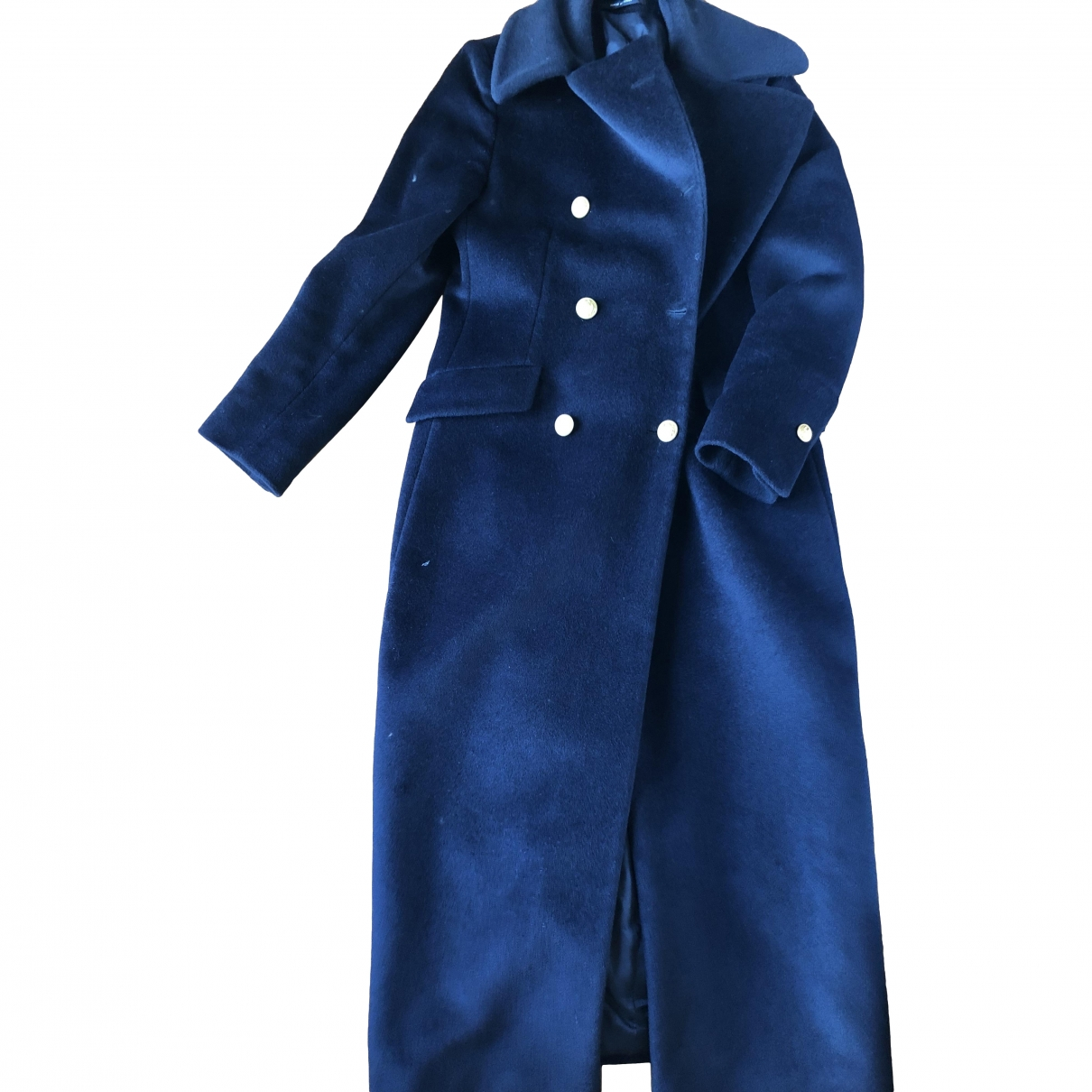 Tagliatore \N Maentel in  Blau Wolle