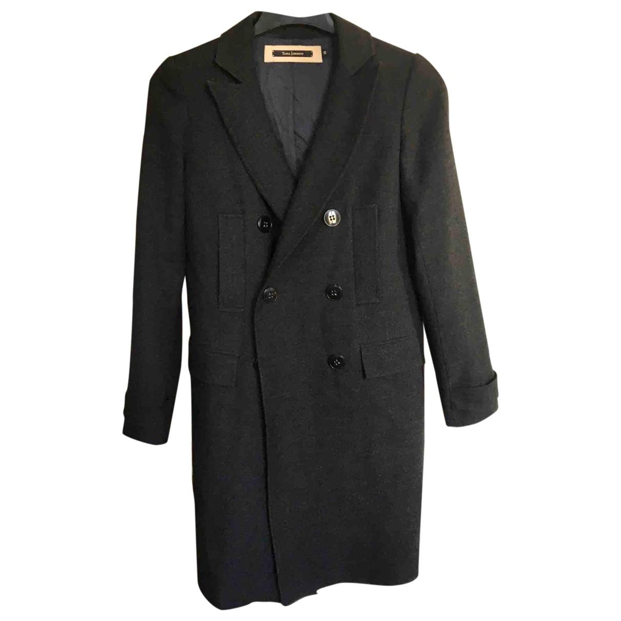 Tara Jarmon \N Grey Wool coat for Women 36 FR
