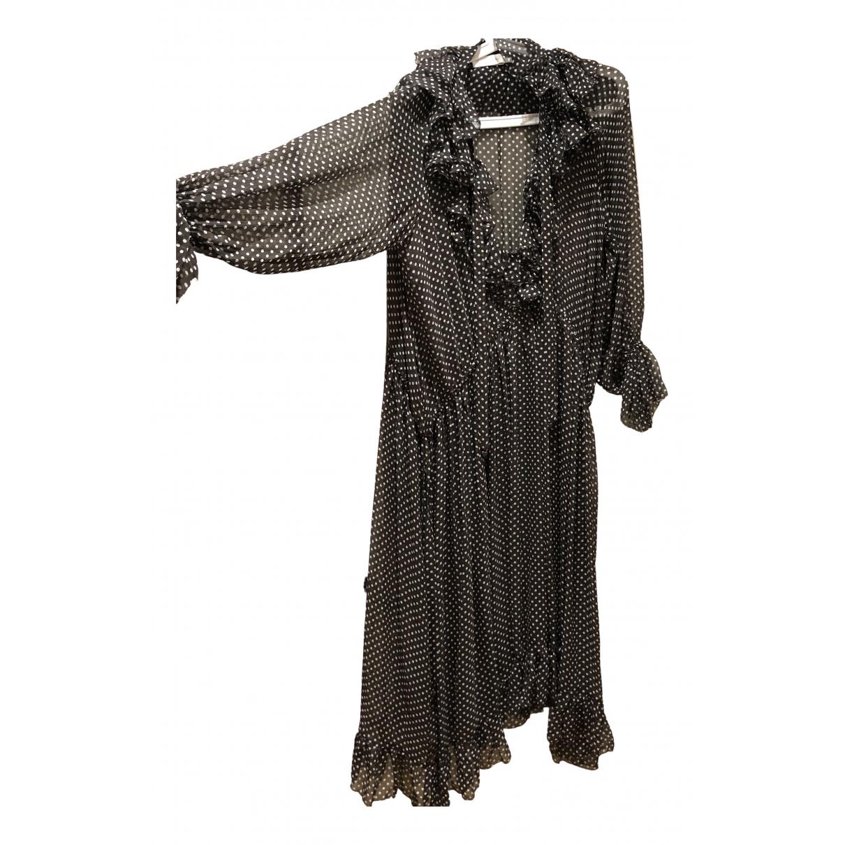 Zimmermann - Robe   pour femme en soie - gris