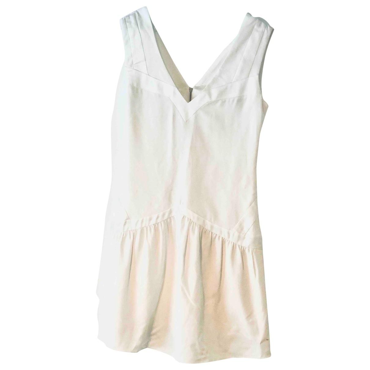 Sandro \N White dress for Women 1 0-5