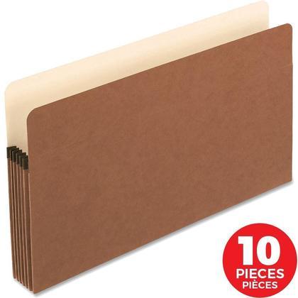 Pendaflex® Expanding File Pocket, Legal Size - 10/Pack ,5-1/4 in. (1,200 sheets)