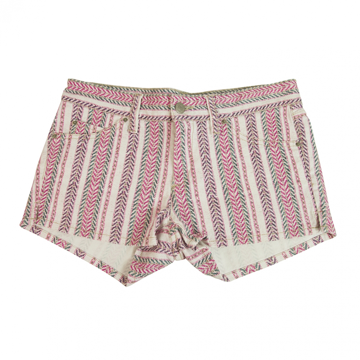 Isabel Marant Etoile \N Multicolour Cotton - elasthane Shorts for Women 38 FR
