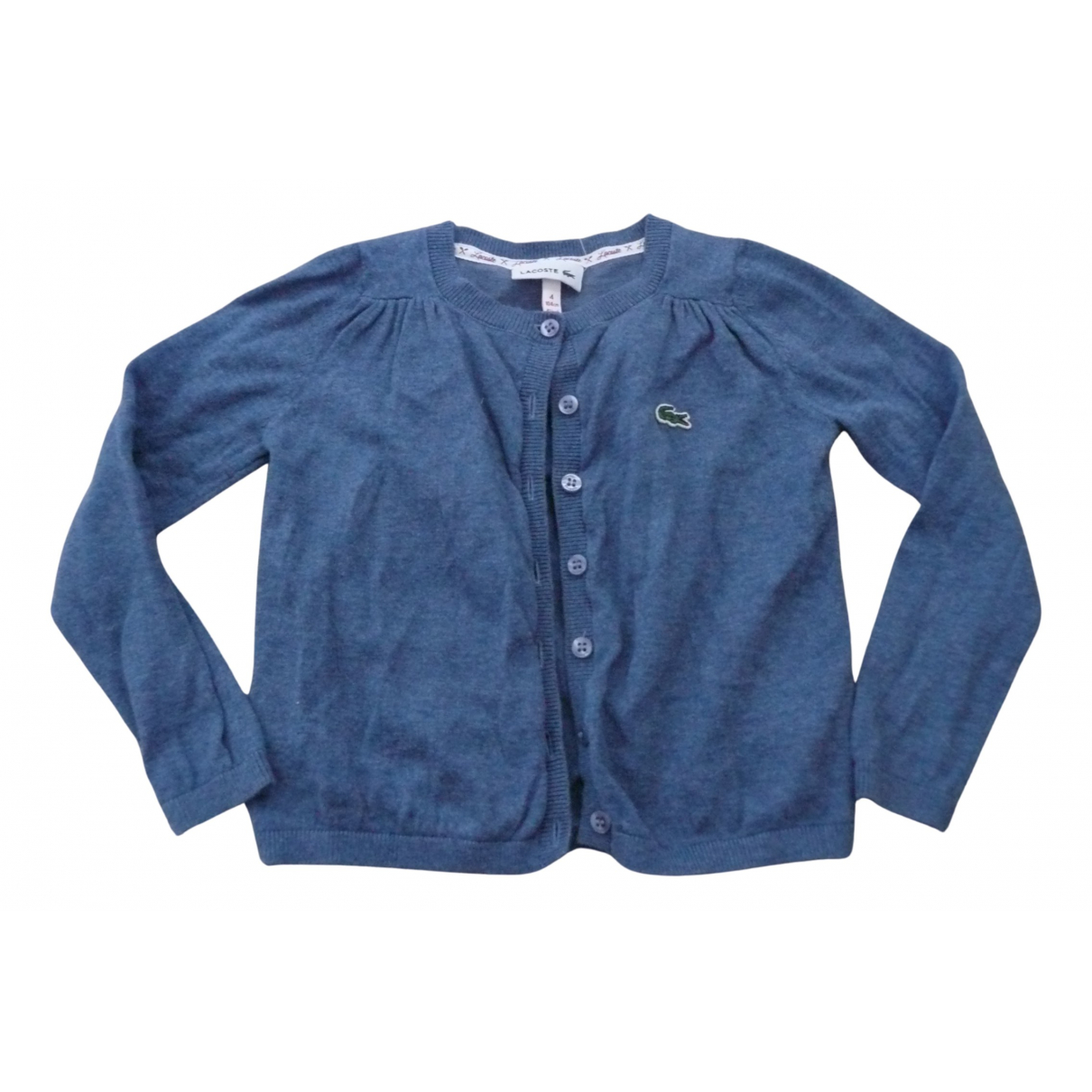 Lacoste \N Pullover, StrickJacke in  Blau Baumwolle