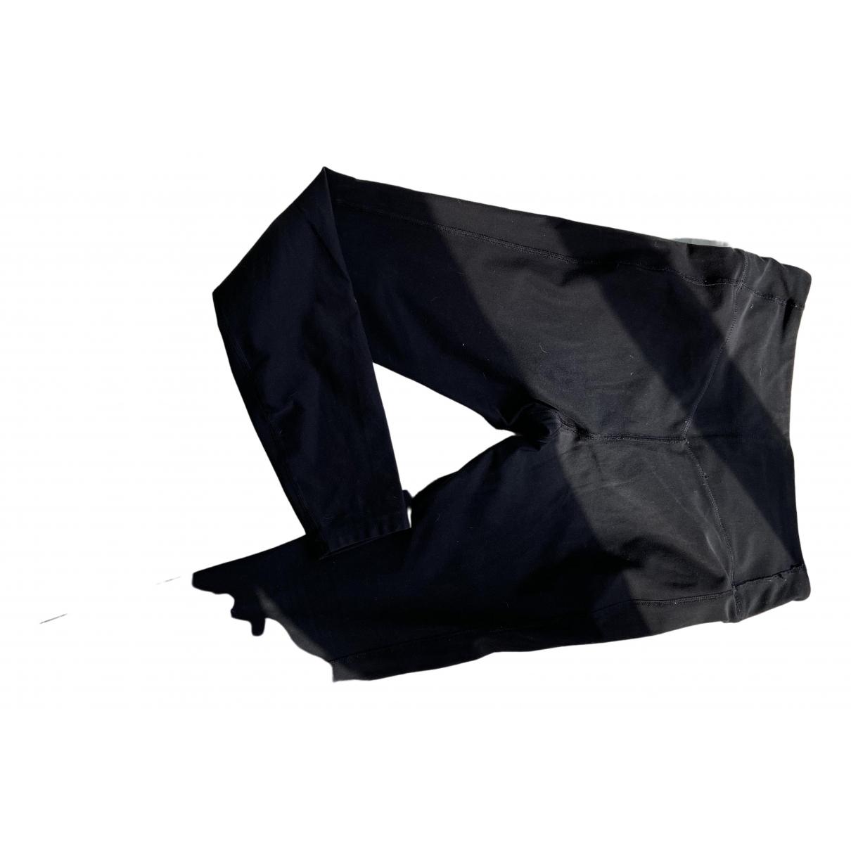Nike N Black Spandex Trousers for Women M International