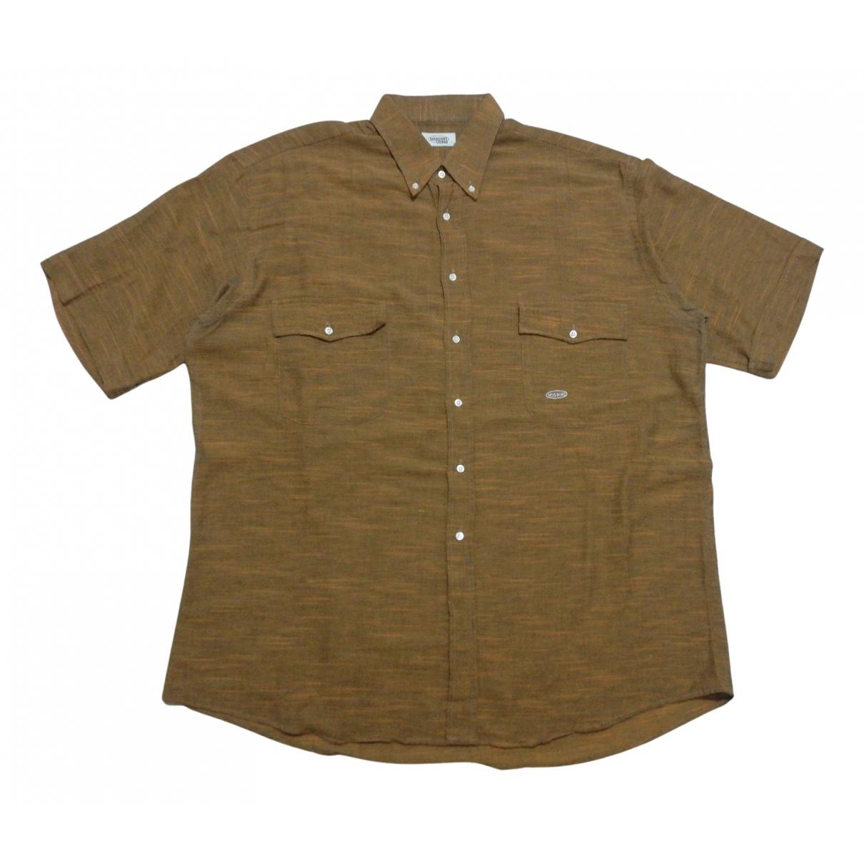 Missoni - Polos   pour homme en coton - marron
