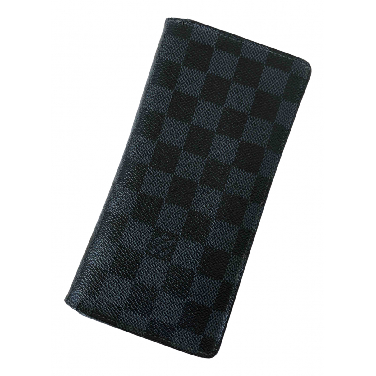 Louis Vuitton Brazza Navy Cloth Small bag, wallet & cases for Men \N