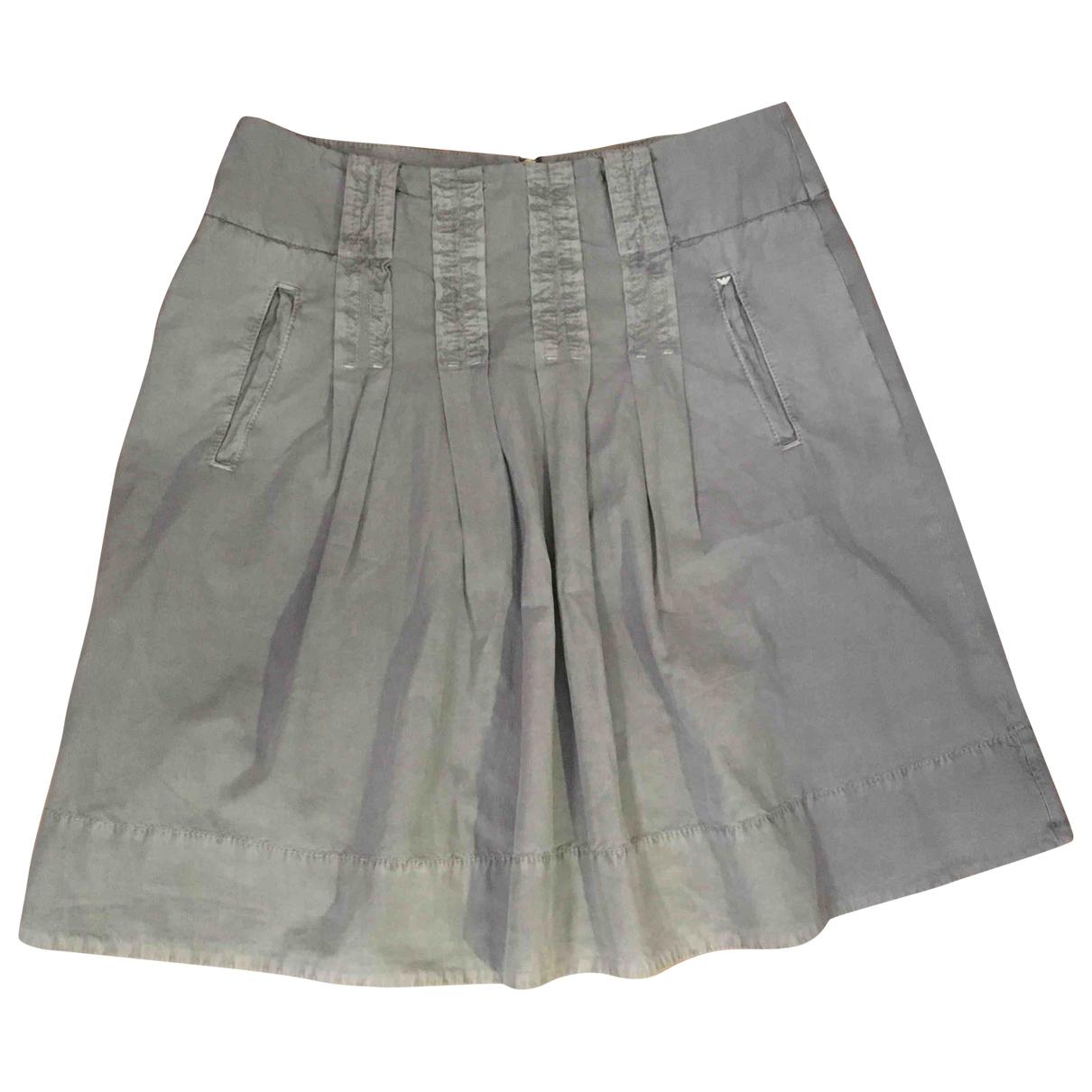 Armani Jean - Jupe   pour femme en coton - gris