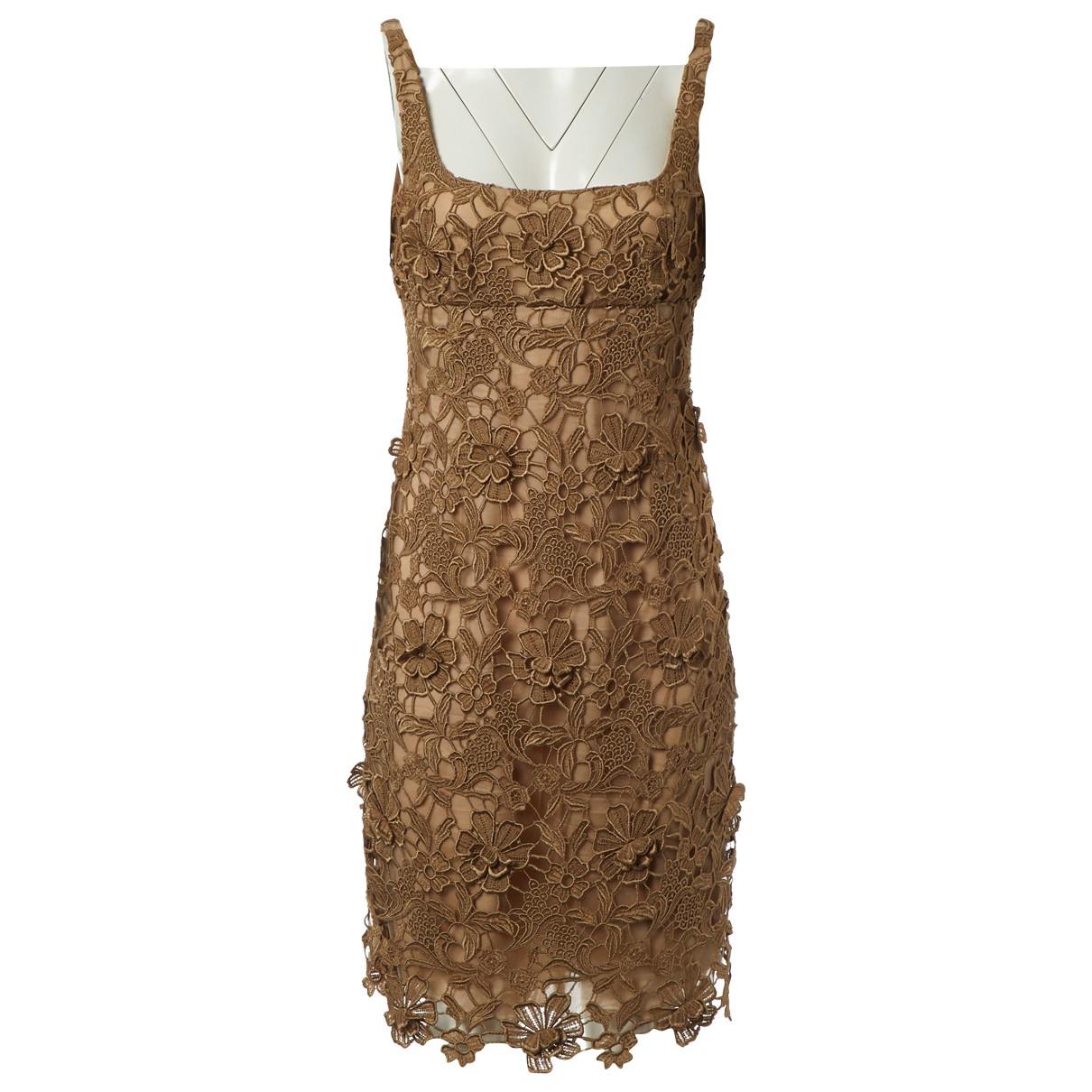 Valentino Garavani \N Beige dress for Women 6 UK