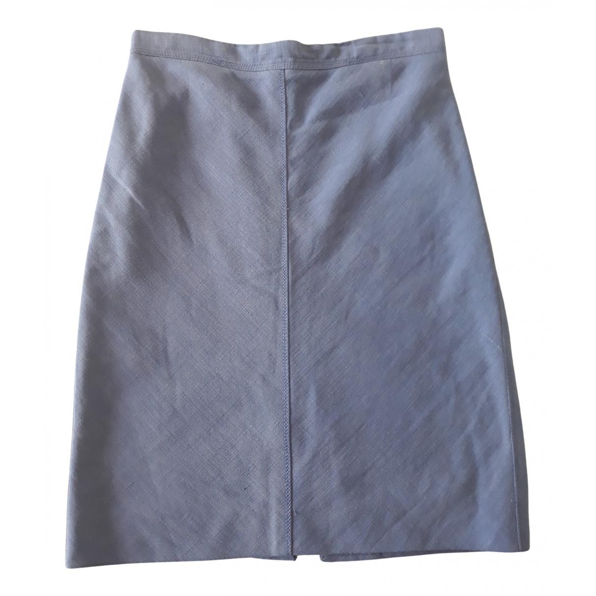 Louis Vuitton - Jupe   pour femme en lin