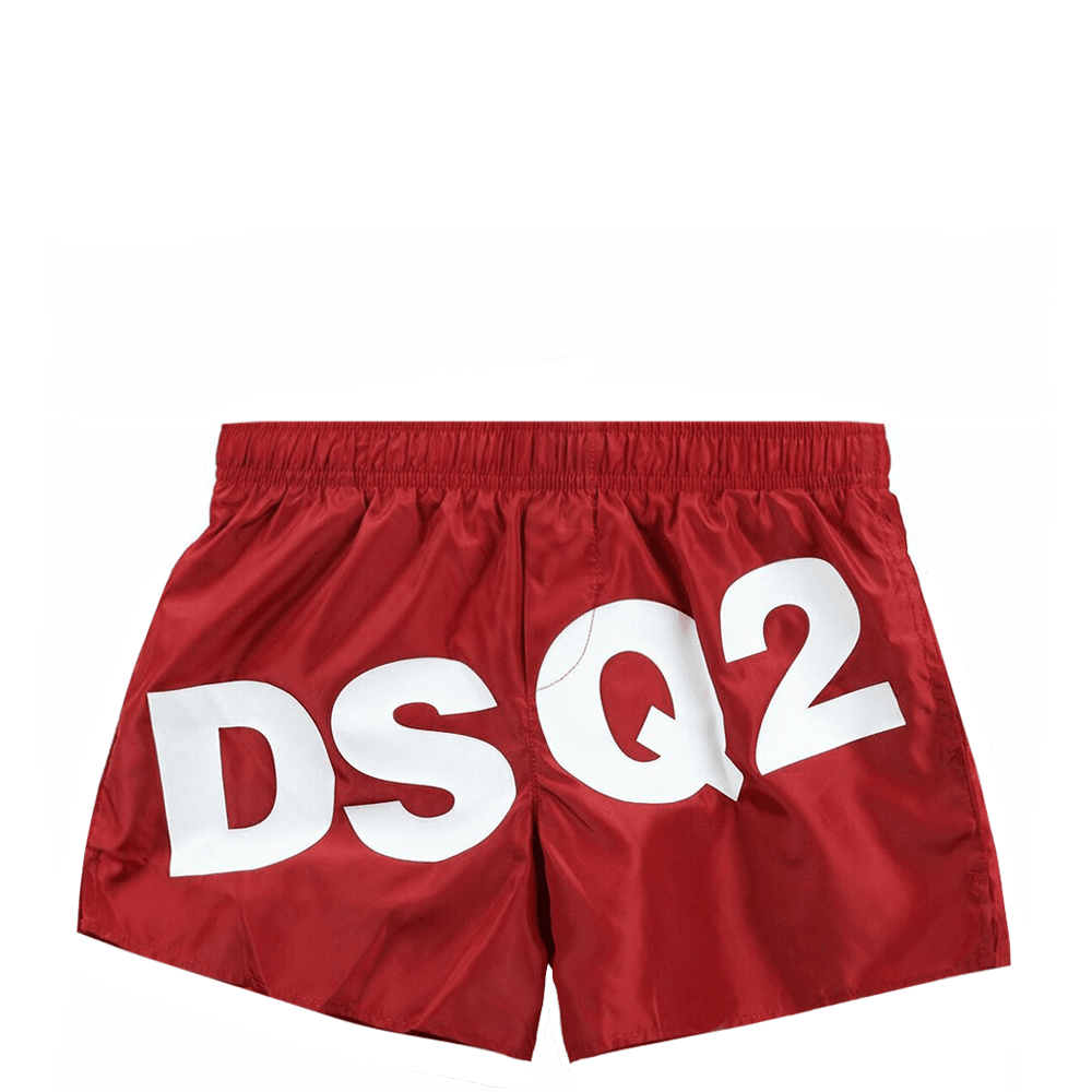 Dsquared2 Kids Swimshorts Colour: RED, Size: 10 YEARS