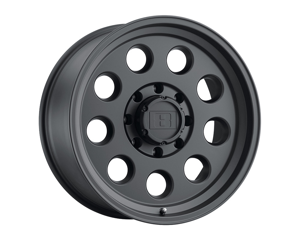 Level 8 Hauler Wheel 18x9 8x170 0mm Matte Black