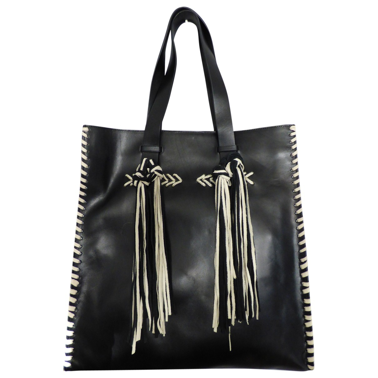 Ba&sh \N Black Leather handbag for Women \N