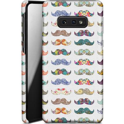 Samsung Galaxy S10e Smartphone Huelle - Mustache Mania von Bianca Green