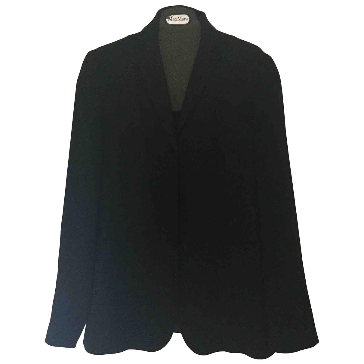 Max Mara s - Veste   pour femme en laine - bleu