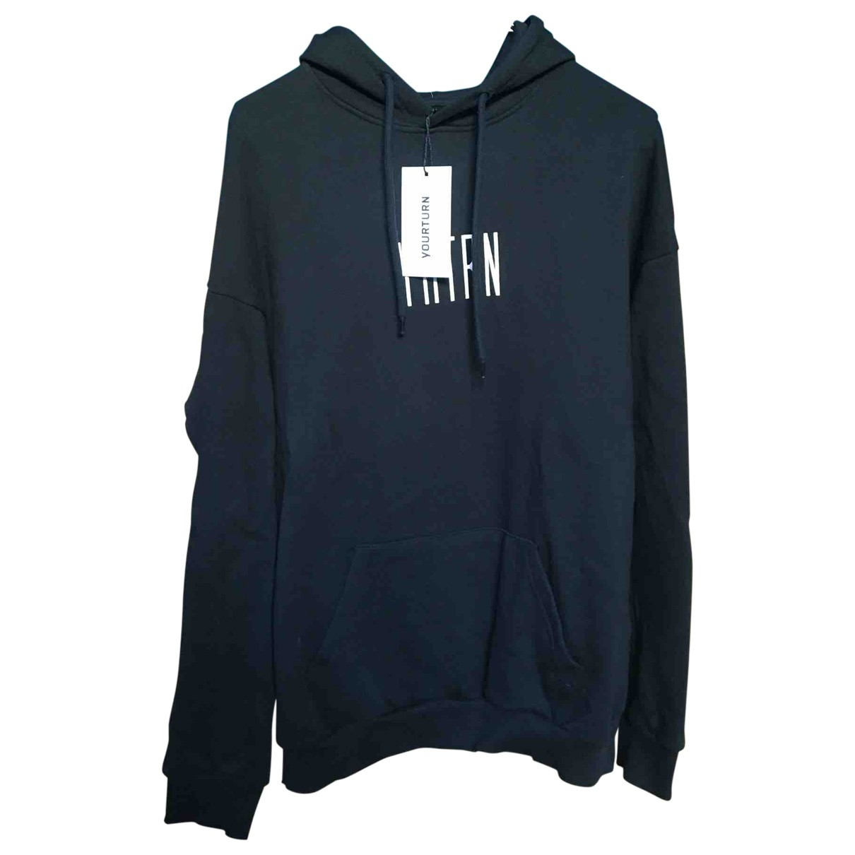 Non Signé / Unsigned \N Black Cotton Knitwear & Sweatshirts for Men S International