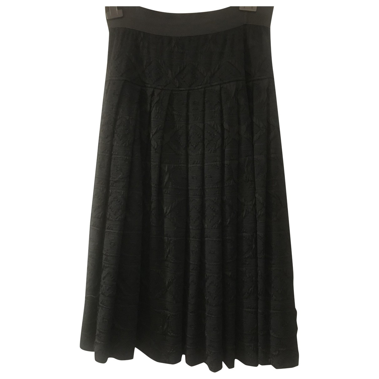 Non Signé / Unsigned \N Black skirt for Women 48 IT