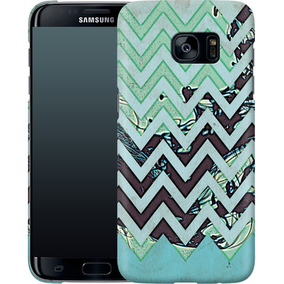 Samsung Galaxy S7 Edge Smartphone Huelle - Electric Ink von caseable Designs